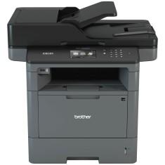 Impressora Multifuncional Brother DCP-L5652DN Laser Preto e Branco