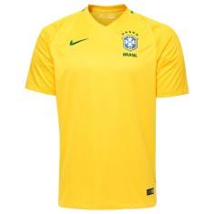 8cb009d7c26fb Camisa Brasil I 2016 com Número Torcedor Masculino Nike