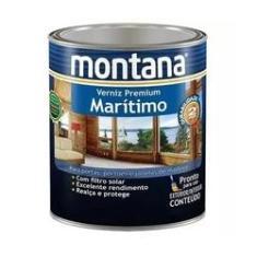 Imagem de Verniz Maritimo Natural Montana Premium Fosco Madeira 900ml