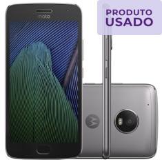 Smartphone Motorola Moto G G5 Plus Usado 32GB Android