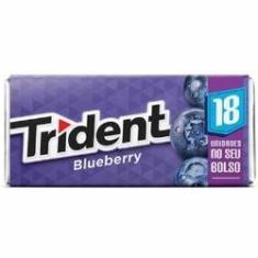 Imagem de Goma De Mascar Trident 18S Blueberry 12 Unidades