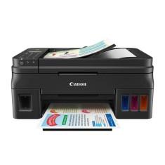 Impressora Multifuncional Canon PIXMA MaxxTinta G4100 Tanque de Tinta Colorida Sem Fio