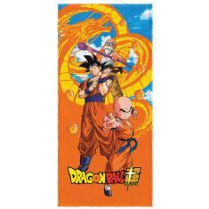 Imagem de Toalha De Banho Infantil Felpuda Dragon Ball Dbz