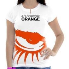 Imagem de Camiseta Camisa Feminina Orange Laranja Mecanica 23