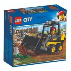 Imagem de Bloco De Montar Lego City 60219 Trator De Construção 88 Pçs