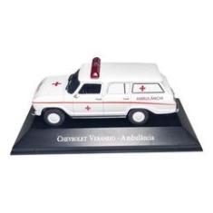 Imagem de Chevrolet Veraneio Ambulância Miniatura Coleção Hobby Retrô