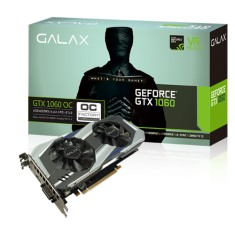 Placa de Video NVIDIA GeForce GTX 1060 6 GB GDDR5 192 Bits Galax 60NRH7DSL9OC