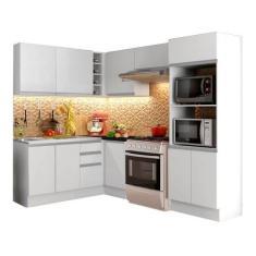 Imagem de Cozinha Completa 2 Gavetas 11 Portas Acordes Glamy de Canto Madesa