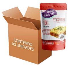 Imagem de Macarrão Konjac Massa mf tipo Lasanha contendo 5 unidades de 270g