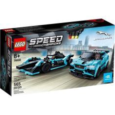 Imagem de LEGO Speed Champions - Formula E Panasonic - Jaguar Racing GEN2 car & Jaguar I-PACE eTROPHY - 768978