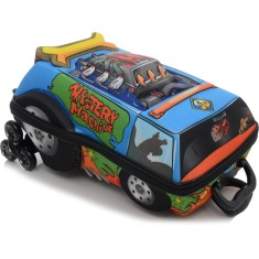 Imagem de Mochila com Rodinhas Escolar Max Toy by Diplomata Scooby Doo Turbo