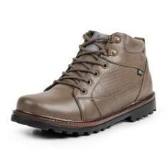 Imagem de Bota Coturno Casual Masculino Top Franca Shoes Bege