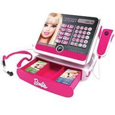 Imagem de Caixa Registradora Barbie Luxo  - Intek