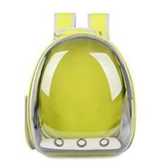 Imagem de SDLAJOLLA Bolsa para transporte de gatos, bolsa respirável para animais de estimação, mochila para cães pequenos, gaiola de cápsula para viagem, bolsa para transporte de animais de estimação