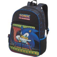 Imagem de Mochila Escolar Sonic Speed DOTS