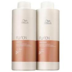 Imagem de Kit Wella Shampoo E Condicionador Fusion
