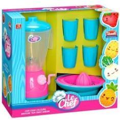Imagem de Liquidificador Infantil Chef Com Acessórios Usual Brinquedos