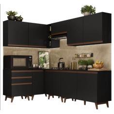Imagem de Cozinha Completa 3 Gavetas 10 Portas Reims 392002 Madesa