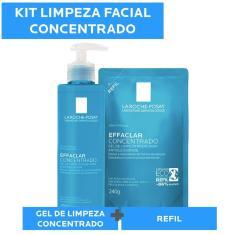 Imagem de Kit Gel de Limpeza Facial Effaclar Concentrado 300g e Refil