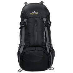 Imagem de Unissex 50L mochila viagem pacote de esportes bolsa esportiva Mountaineering Hiking