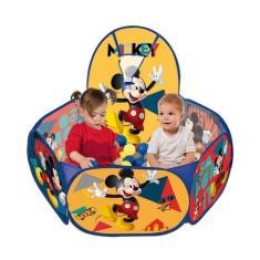 Imagem de Piscina De Bolinha Mickey Com Cesta De Basquete - Zippy Toys