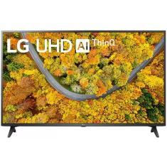 "Smart TV LED 65"" LG ThinQ AI 4K 65UP7550PSF 2 HDMI"