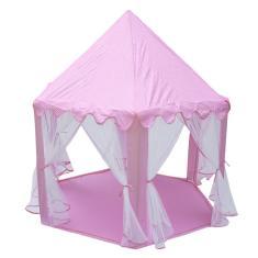 Imagem de Tenda infantil infantil interior tenda de brincar dobrável tenda pop up menina princesa castelo