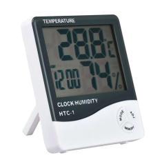 Imagem de Termômetro Higrômetro Medidor de Temperatura Umidade Interno e Externo HTC-1