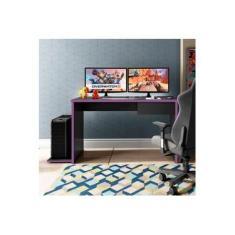Mesa Gamer 1 Gaveta DRX 8000 Móveis Leão