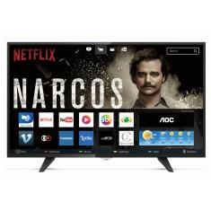 "Smart TV LED 43"" AOC Série 5000 Full HD LE43S5970 3 HDMI"