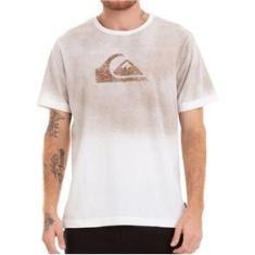 Imagem de Camiseta Quiksilver Especial Degra Logo Bege