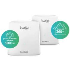 Imagem de Roteador Mesh Wireless Dual Band Intelbras Twibi Giga+