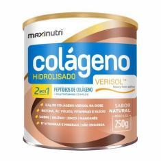 Colágeno Hidrolisado Verisol® 2 Em 1 - 250g Original - Maxinutri