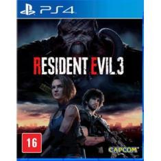 Jogo Resident Evil 3 PS4 Capcom