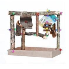 Imagem de Parque Mini para Pássaros Toy For Bird Colorido