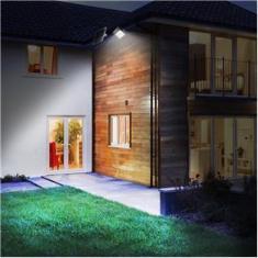 Imagem de Holofote Refletor 100W À Prova D`Água Energia Solar com Painel Automático e Manual