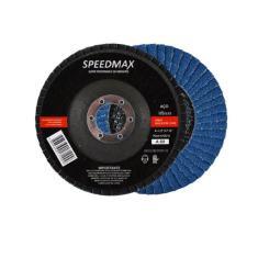 Imagem de KIT C/10 PEÇAS Disco De Lixa Flap 4.1/2 G-60 Speedmax P/ Esmerilhadeira
