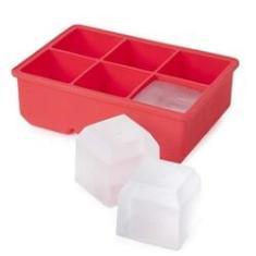 Imagem de Forma De Silicone Para Gelo 6 Cubos