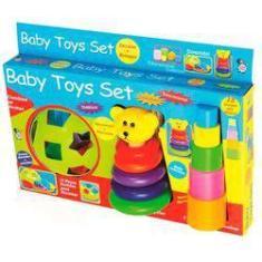Imagem de Brinquedo Conjunto Didatico Baby Toys Set Pica Pau