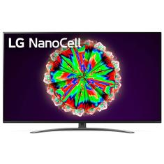 "Smart TV Nano Cristal 65"" LG ThinQ AI 4K HDR 65NANO81SNA"