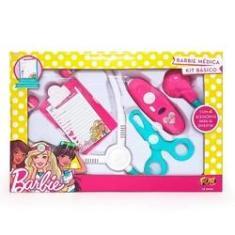 Imagem de Barbie Médica Kit Básico Fun 7623-0