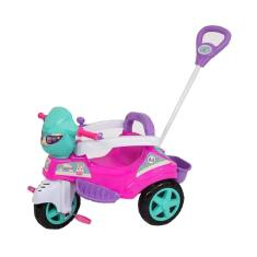 Imagem de Triciclo de Passeio Baby City Menina  com Pedal/Buzina/Guia
