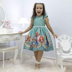 Imagem de Vestido infantil tema Princesa Merida - Valente