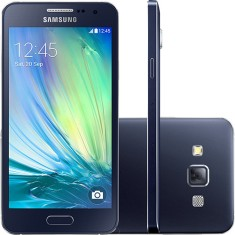 Smartphone Samsung Galaxy A3 SM-A300M/DS 16GB 8,0 MP 2 Chips Android 4.4 (Kit Kat) 3G 4G Wi-Fi