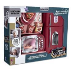 Imagem de Cozinha Gourmet Chef Kids Geladeira Micro Ondas Brinquedo