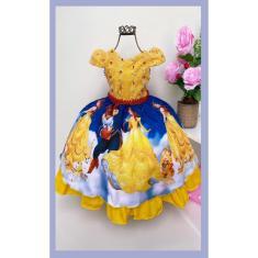 Imagem de Vestido Luxinho Tema Princesa Bela