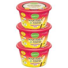 Imagem de Kit 3 Manteiga de coco Qualicôco 200g