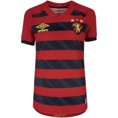Imagem de Camisa Torcedor Feminina Sport I 2021/22 Umbro