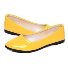 Imagem de Patente couro Calçados Femininos na ponta dos pés Sapatos Femininos calcanhares Polido pu Calçados