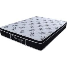 Colchão Queen Size Molas Ensacadas/Pocket Probel D26 Prodormir Specialy Black 158 x 22 x 198 cm